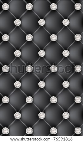 black luxury background vector - stock photo