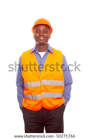 Black man - stock photo