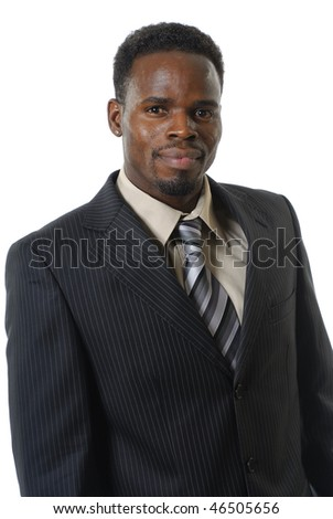 black man in costume - stock photo