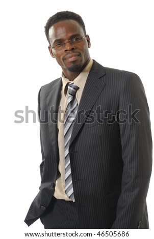 black man in costume - stock photo