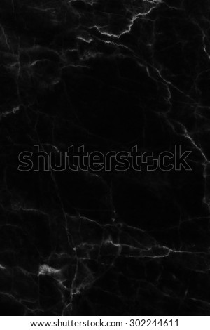 Black marble texture, Abstract of marble in natural patterned  for background and design. - stock photo