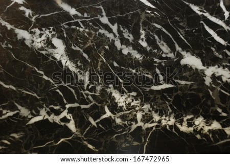 Black marble texture background - stock photo