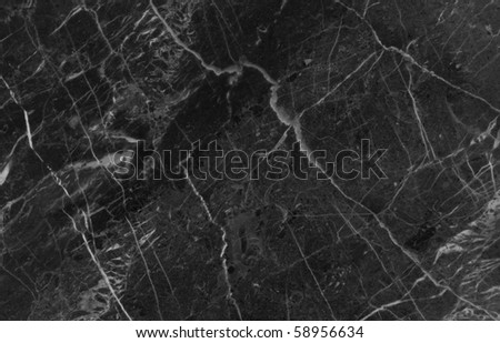 Black marble texture background (High resolution) - stock photo