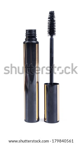 Black mascara - stock photo