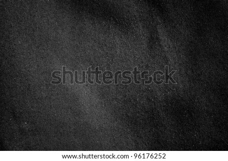 Black material background or texture - stock photo