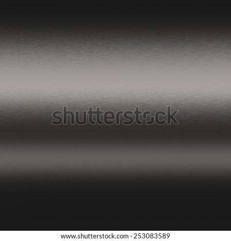 black metal background texture, seamless background - stock photo