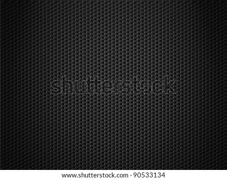 black metal grate background - stock photo