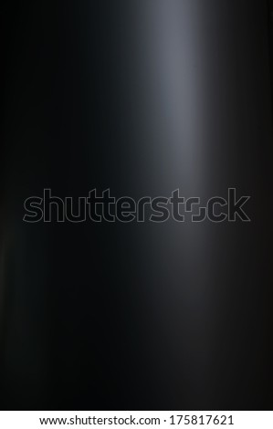 black metal - silver alloy aluminium blank board dark shiny metallic stainless modern plate - stock photo
