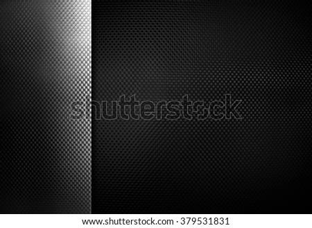 black metal texture background - stock photo
