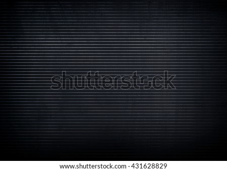 black metal with striped background - stock photo