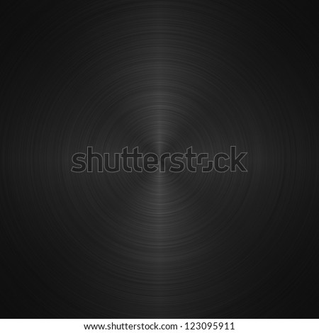 black metallic background - stock photo