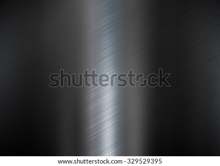 black metallic texture background - stock photo
