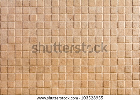 Black mosaic tiles. Abstract colorful background - stock photo