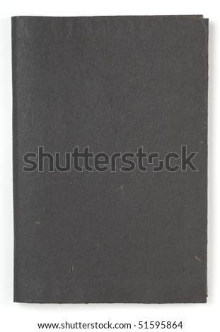 black note pad - stock photo