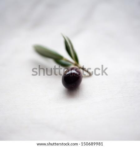 Black olive - stock photo