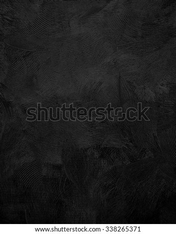 black paint texture background - stock photo