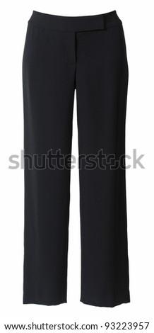 black pants - stock photo