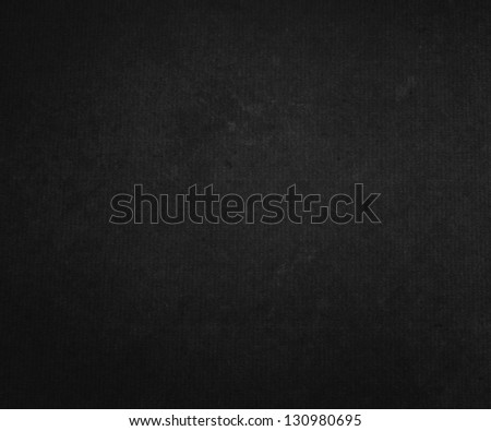 Black Paper Background Texture - stock photo