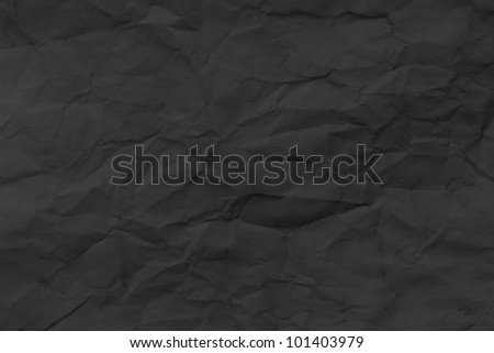 Black Paper Template - stock photo