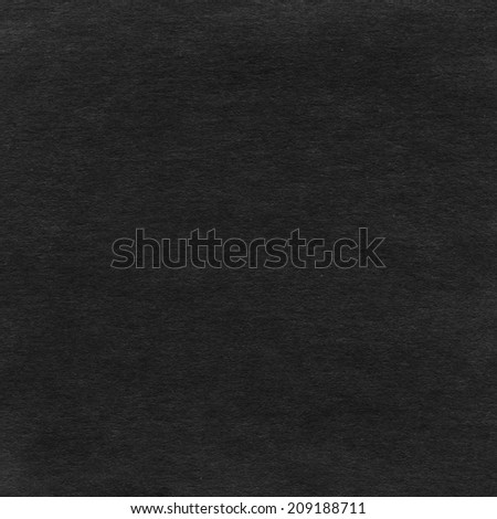 black paper texture - stock photo