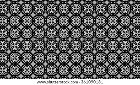 Black pattern on a gray background. Y