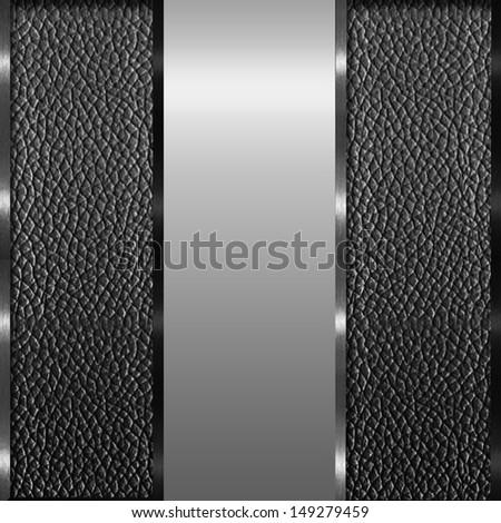 Vector Metal Background Set Stock Vector 135373826