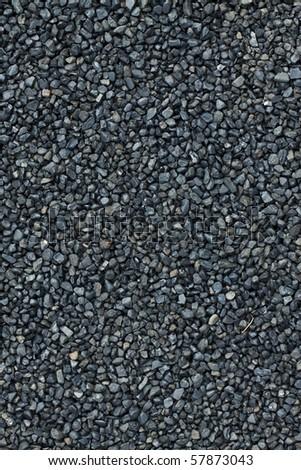 black pebble texture - stock photo
