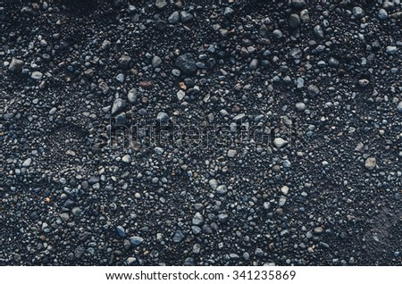 black pebbles patterned texture wallpaper