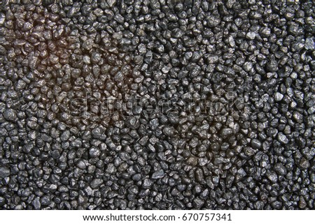 Black pebbles, Texture and Background