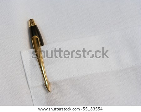Black pen - stock photo