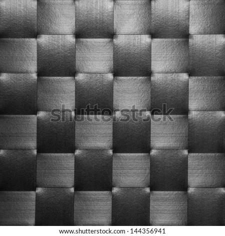black Placemat, texture - stock photo