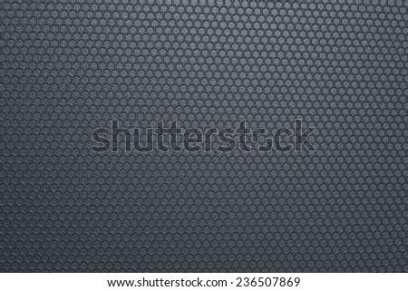 Black plastic texture - stock photo