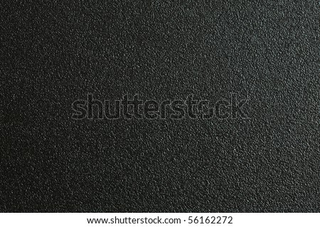 Black PVC plastic texture use for background - stock photo