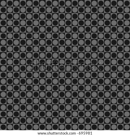 Black retro dot background - stock photo