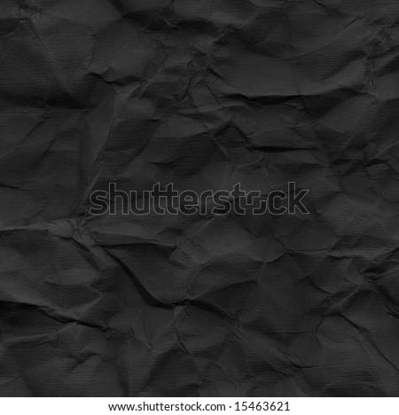 Black rippled cardboard - stock photo