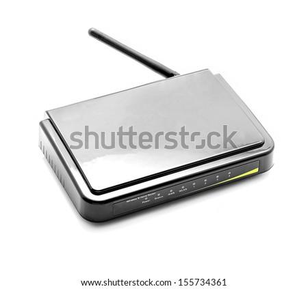 Black  router - stock photo