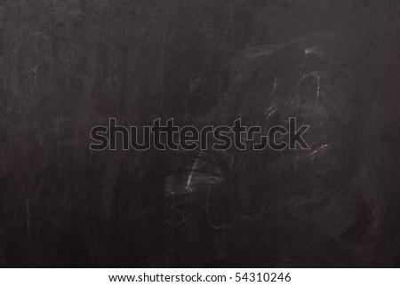 Black school board - stock photo