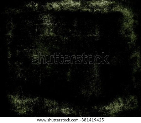 Black scratched grunge texture background