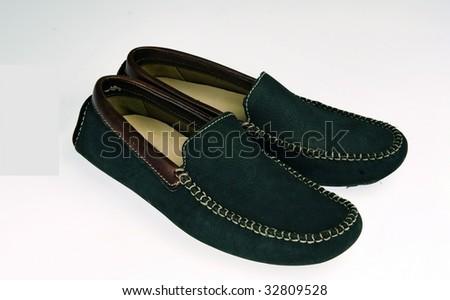 black shoes - stock photo