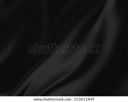 black silk - elegant background for your projects - stock photo