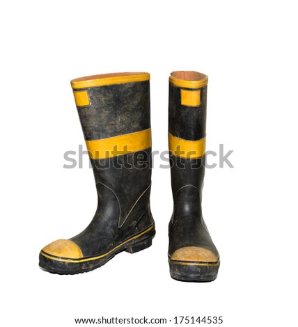 Firefighter Boots Stock Photos Images Amp Pictures