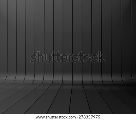 black striped background for your design - stock photo