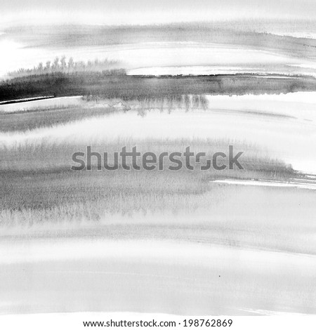 Black striped background on grunge paper texture