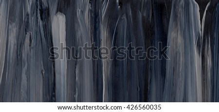 Black striped background on grunge paper texture.