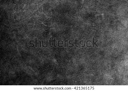 Black suede texture or abstract background. - stock photo