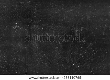 BLACK SURFACE CRACKLE - stock photo