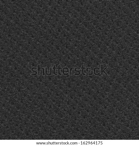 black textile texture can be used as background