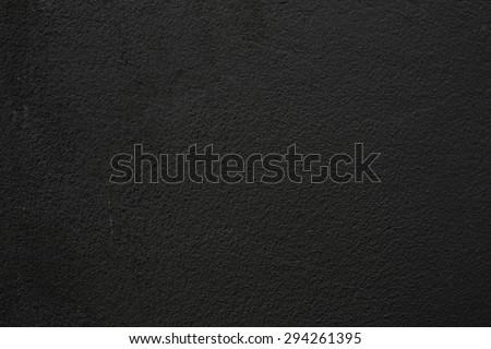 black texture - stock photo