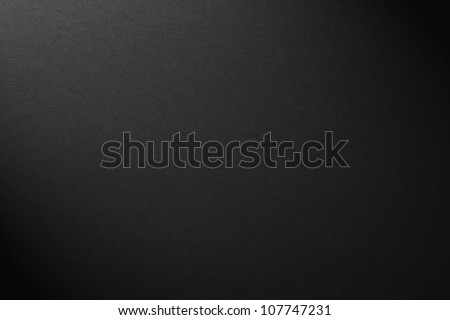 black texture paper - stock photo