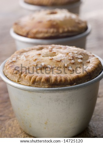 Black Truffled Pork and Pistachio Pies